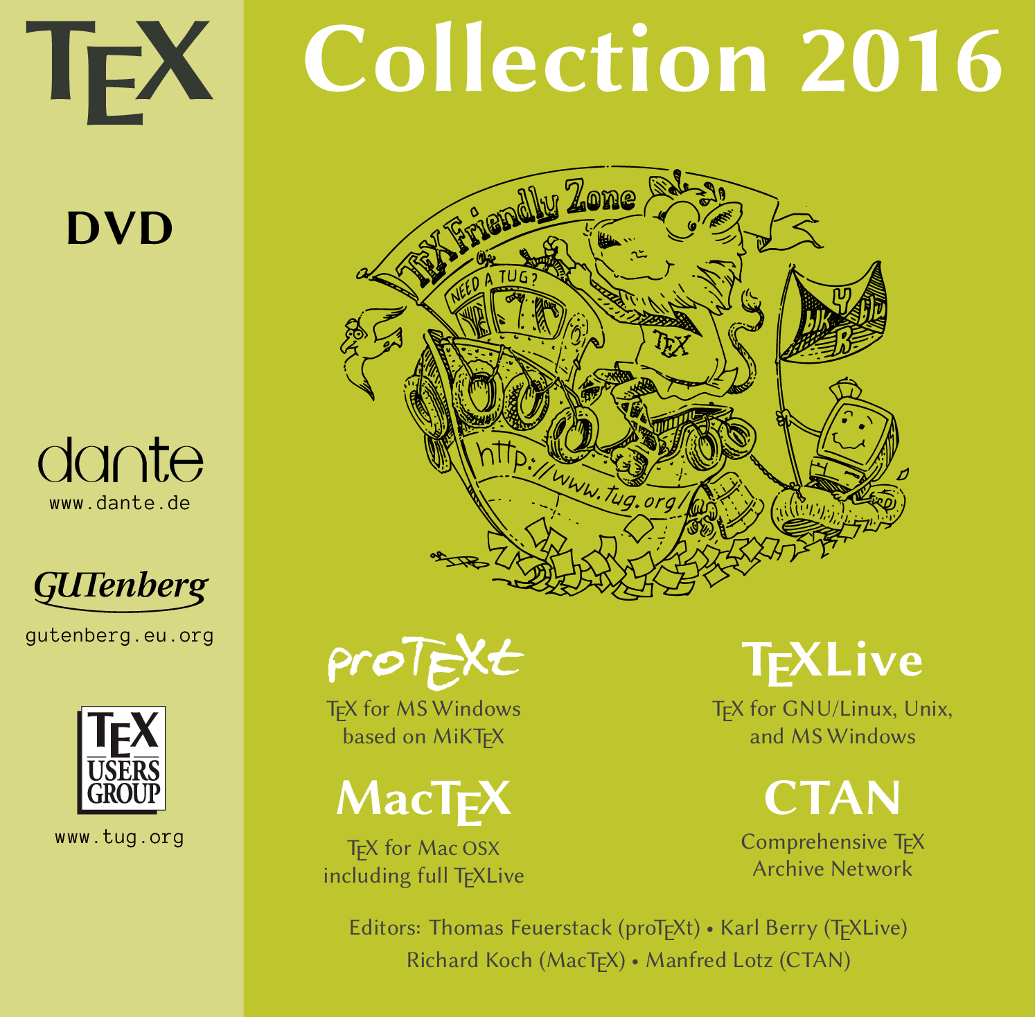 TeX Collection 2016