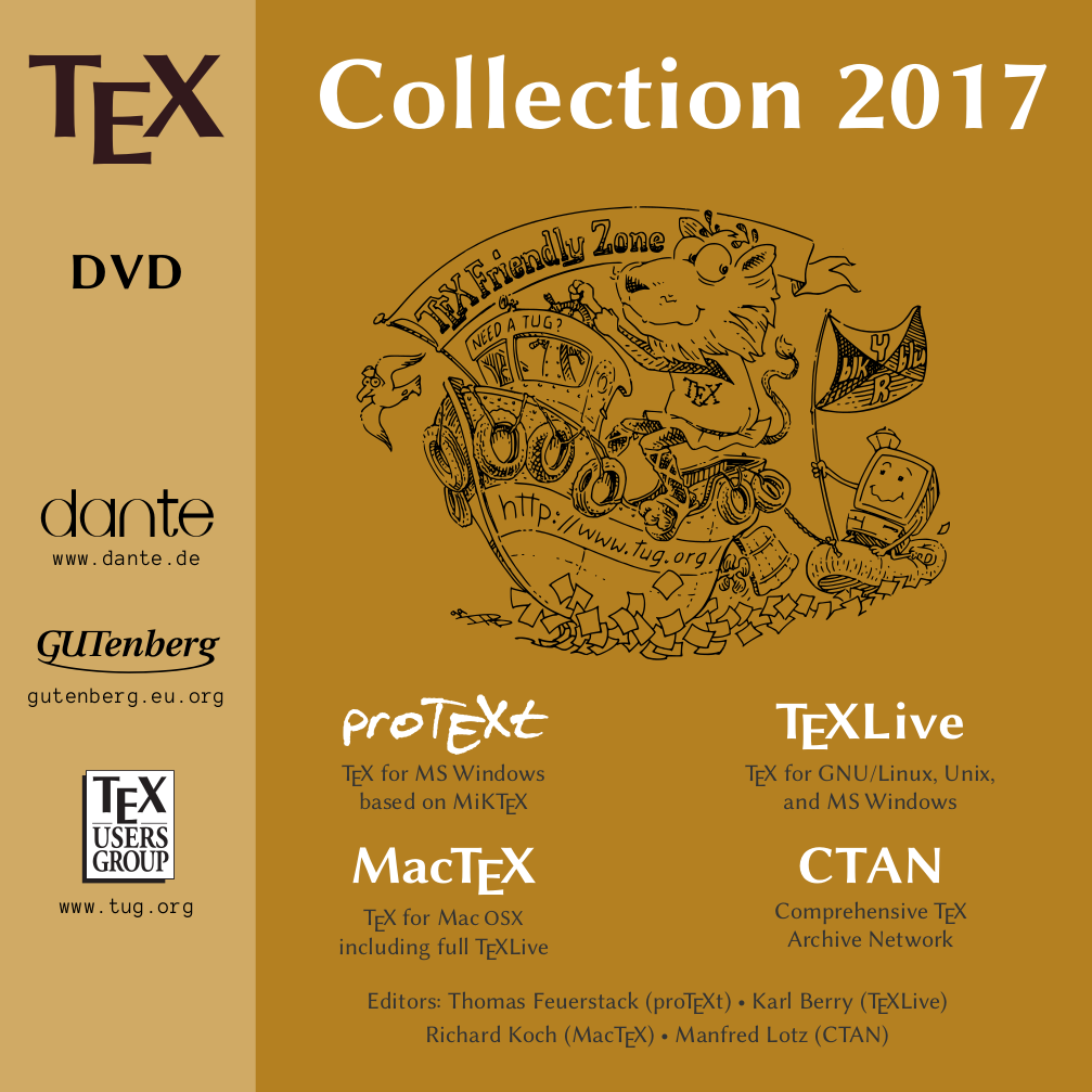TeX Collection 2017