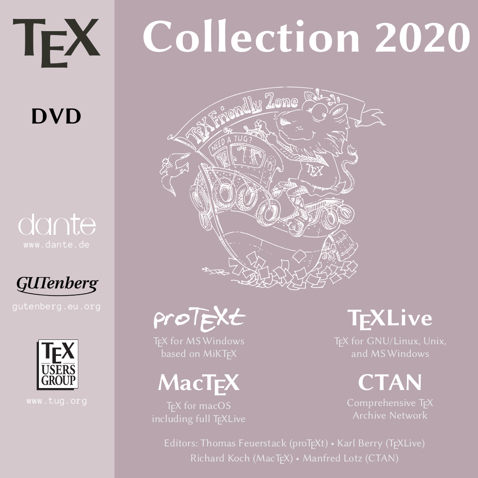 TeX Collection 2020