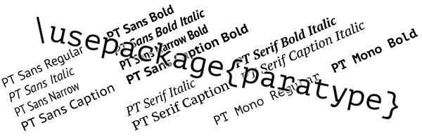 pt sans + pt serif font download